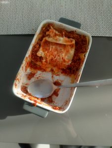 Lasagne from St. Oliver's National School!